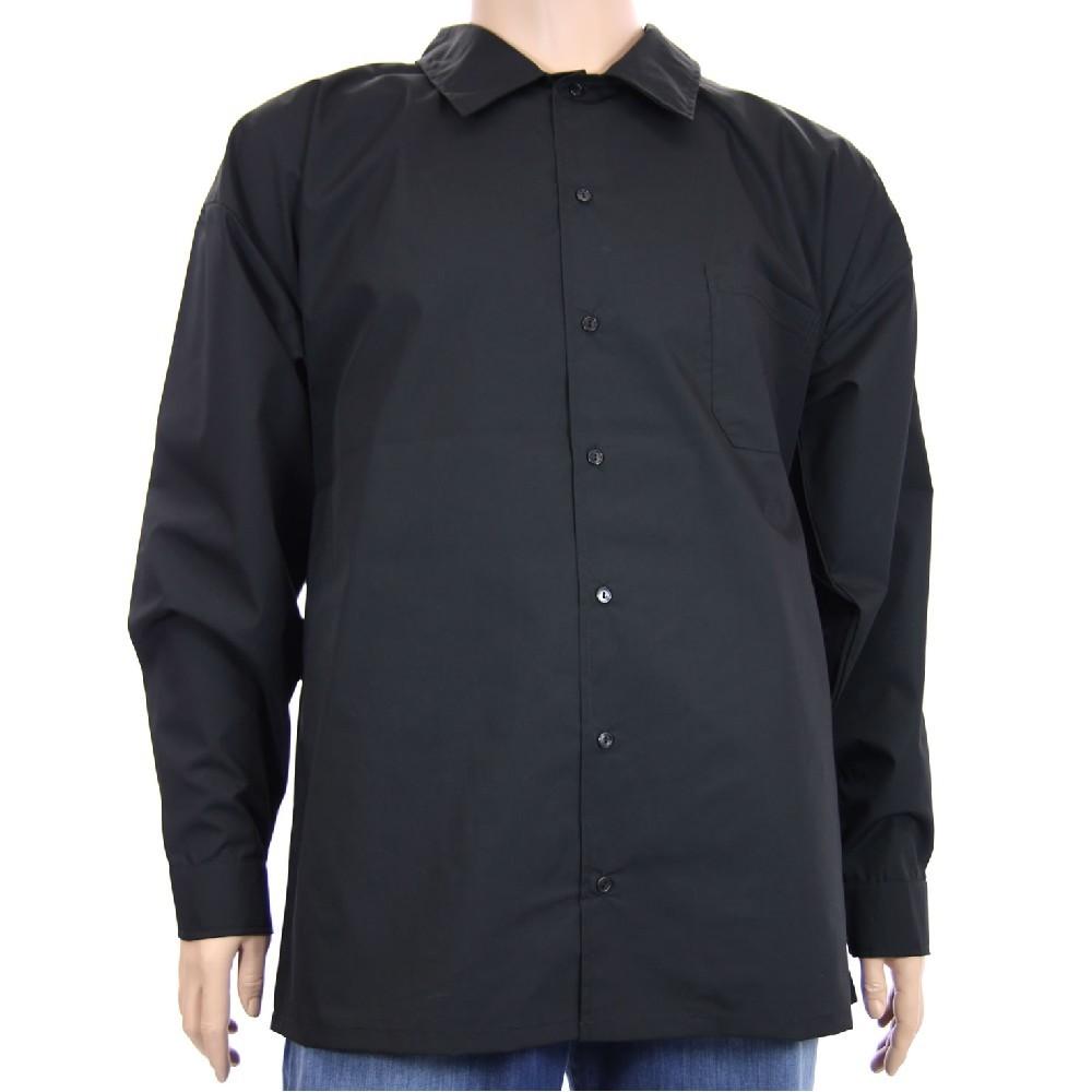 Košile AFLG dlouhý rukáv - černá 07524d4922