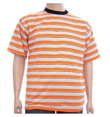 Triko MANN - oranžové pruhy