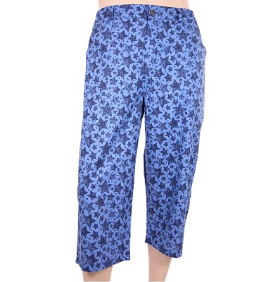 3/4 kalhoty IGOR - modré hvězdy