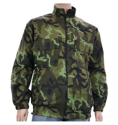 Zimní bunda NERO - maskáč zelenohnědý