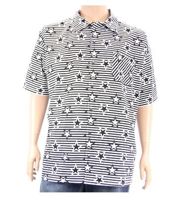 Košile AFLG krátký rukáv - hvězdy