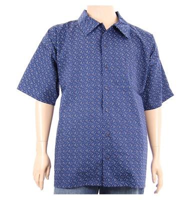 Košile AFLG krátký rukáv - modrá tečky